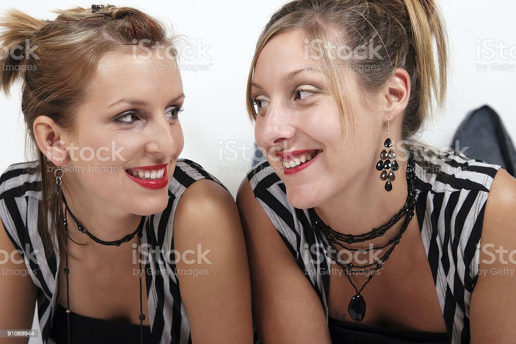 We sure look alike! royalty-free stock photo