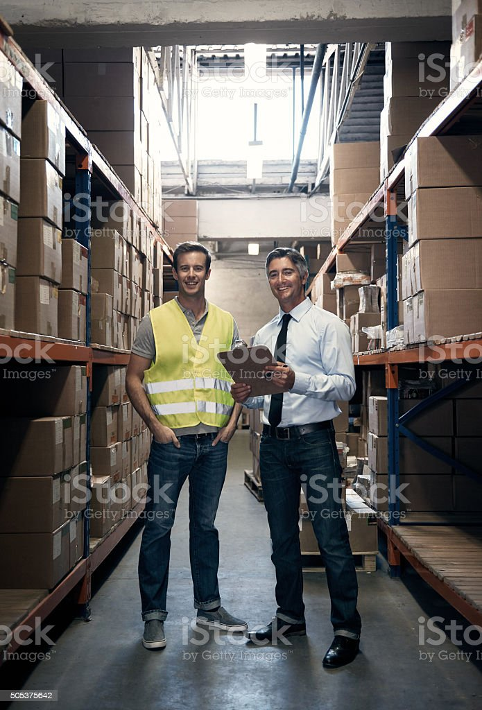 We take care of all your shipping needs stock photo