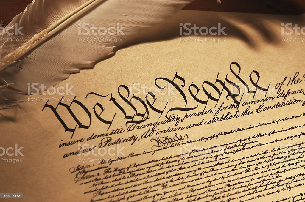 We the People stock photo