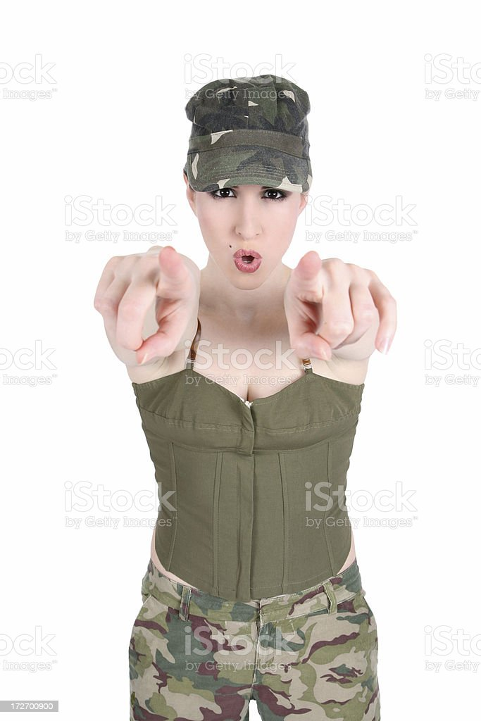 We Want YOU! royalty-free stock photo