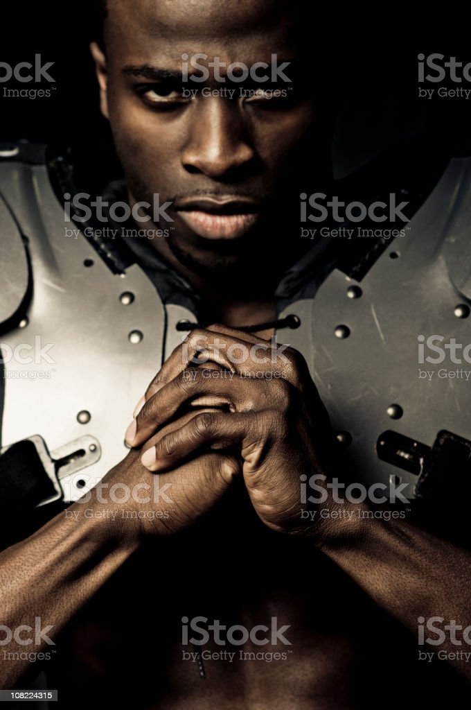 we will crush you royalty-free stock photo