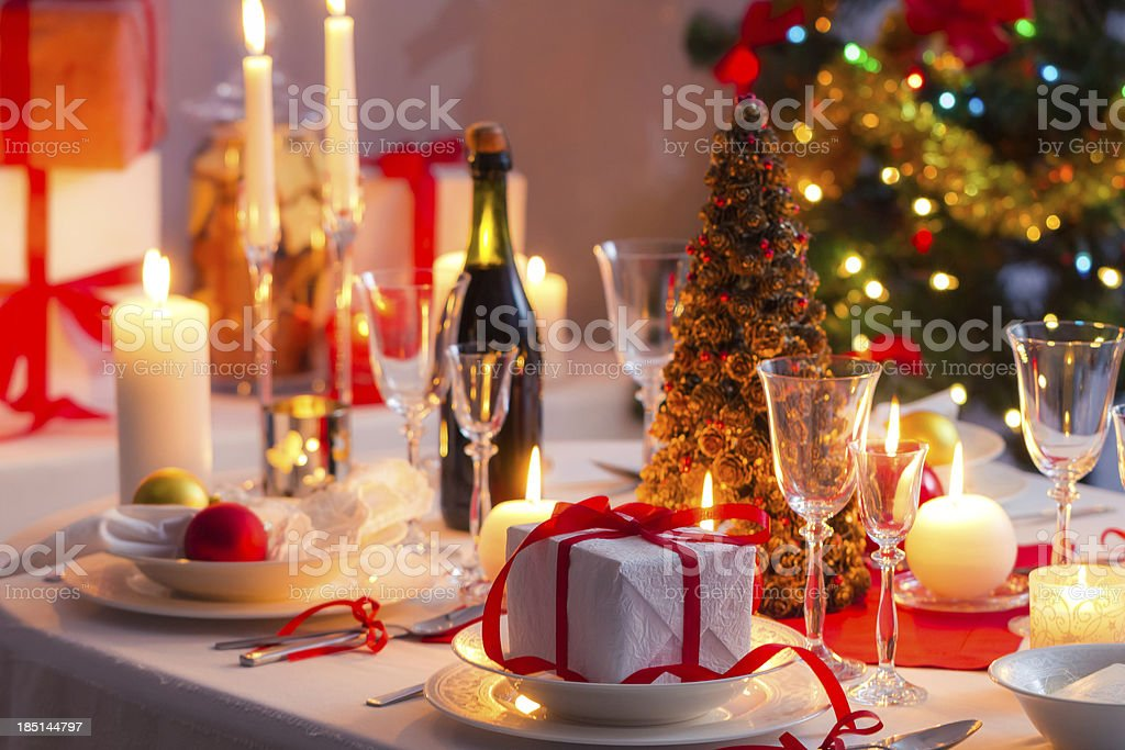 We wish you a Merry Christmas royalty-free stock photo