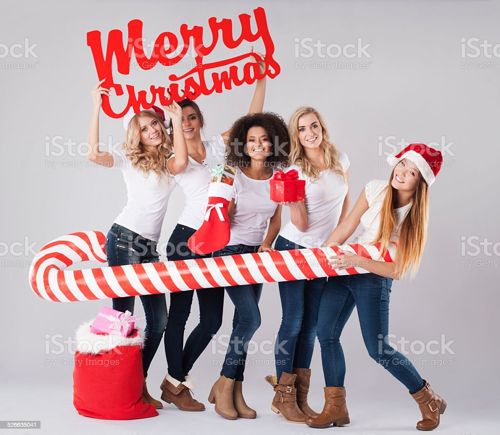 We wish you the best Christmas time stock photo