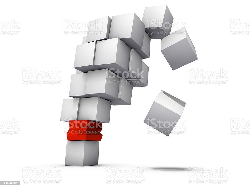 weakest link failure stock photo