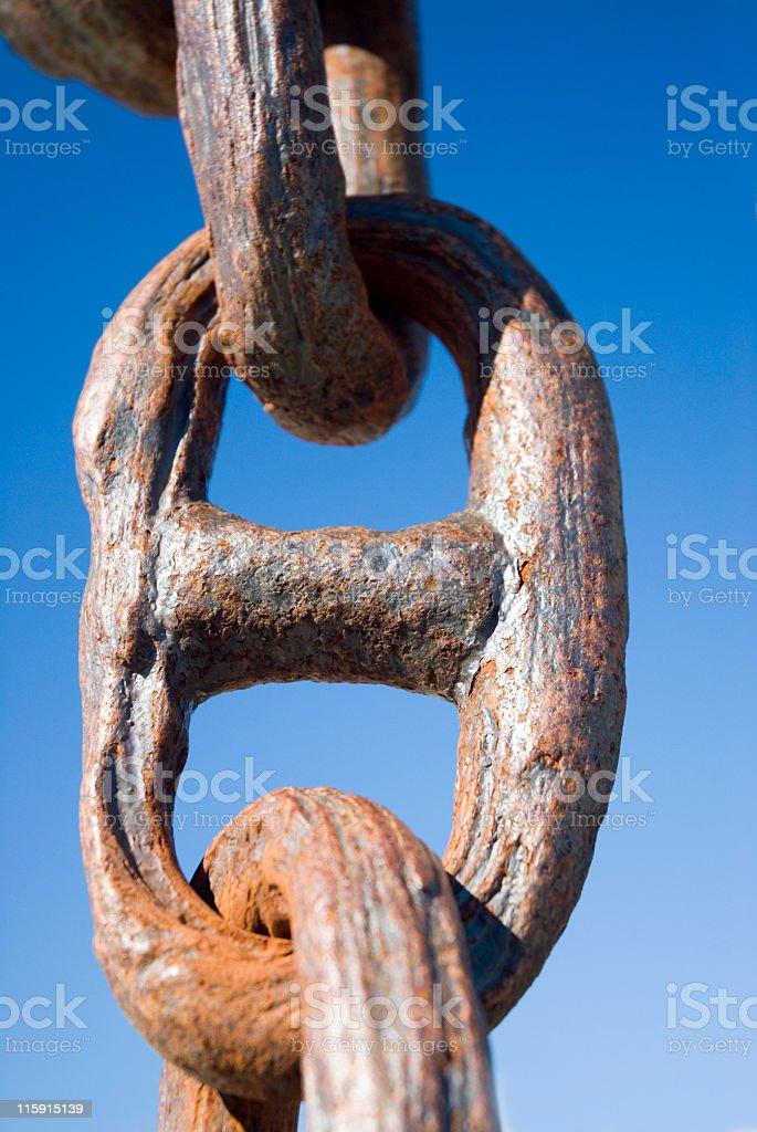 Weakest Link royalty-free stock photo