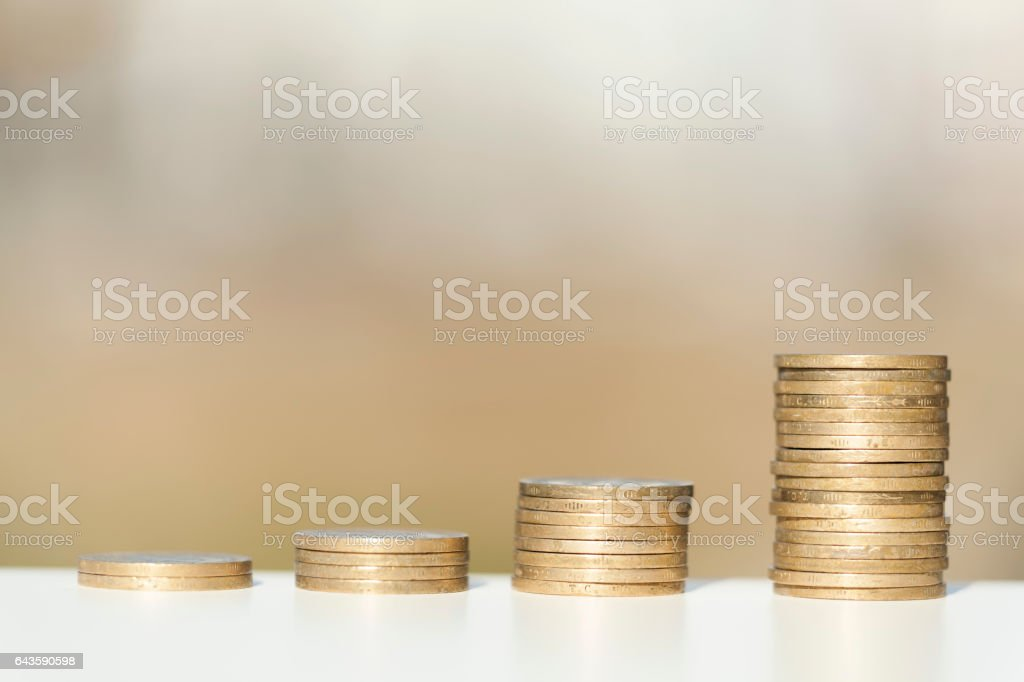 Wealth growing stock photo