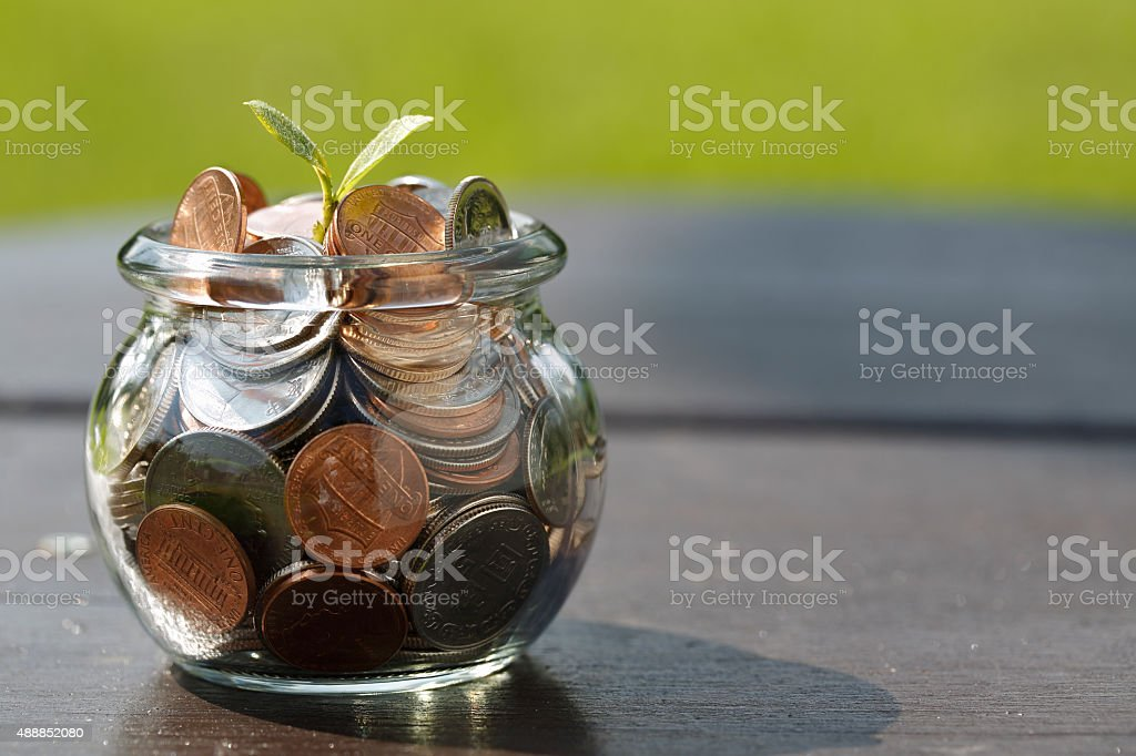 Wealth growth stock photo