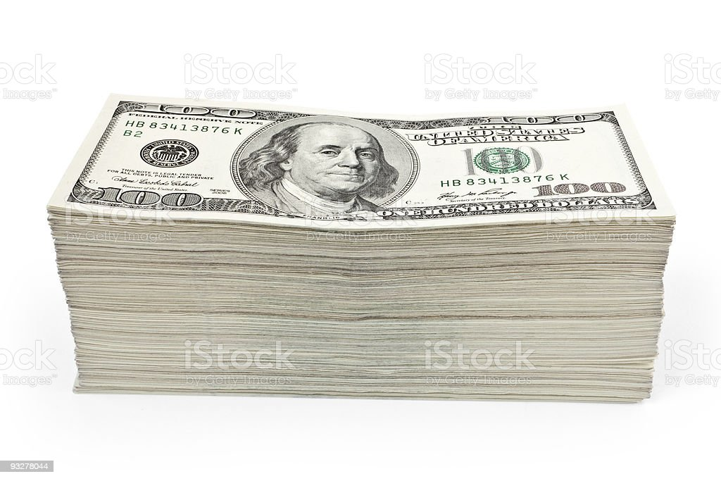 wealth money stock photo