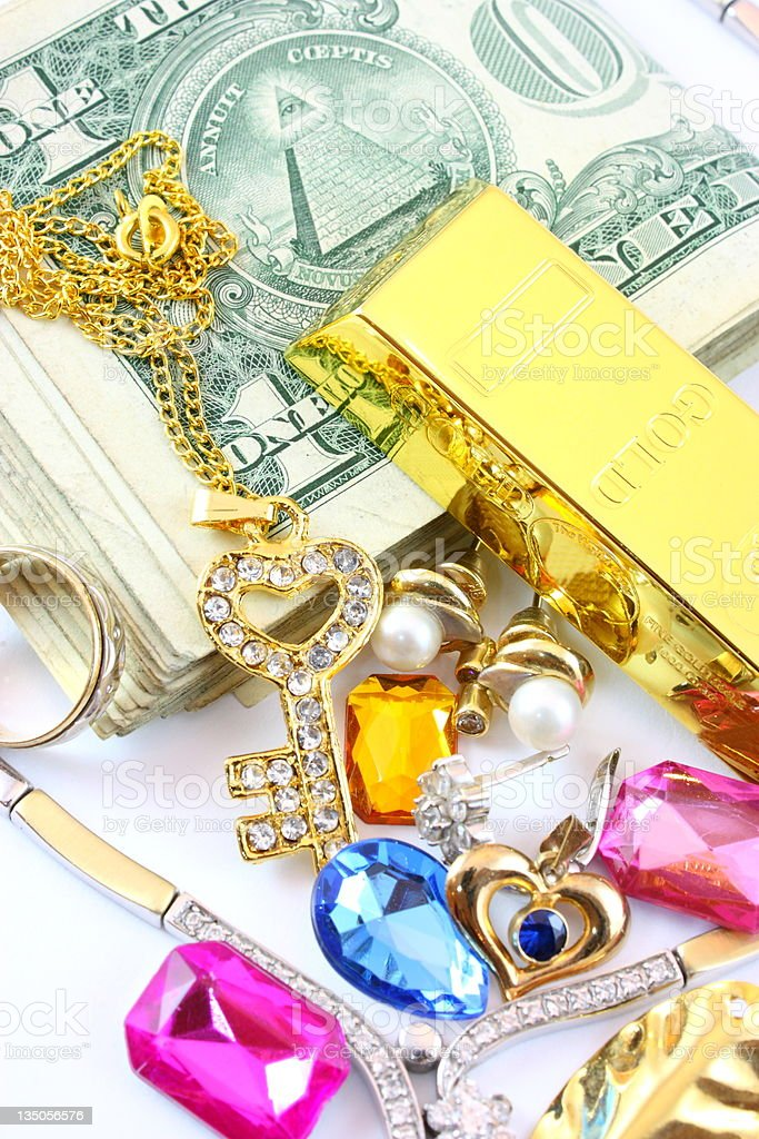 Wealth royalty-free stock photo
