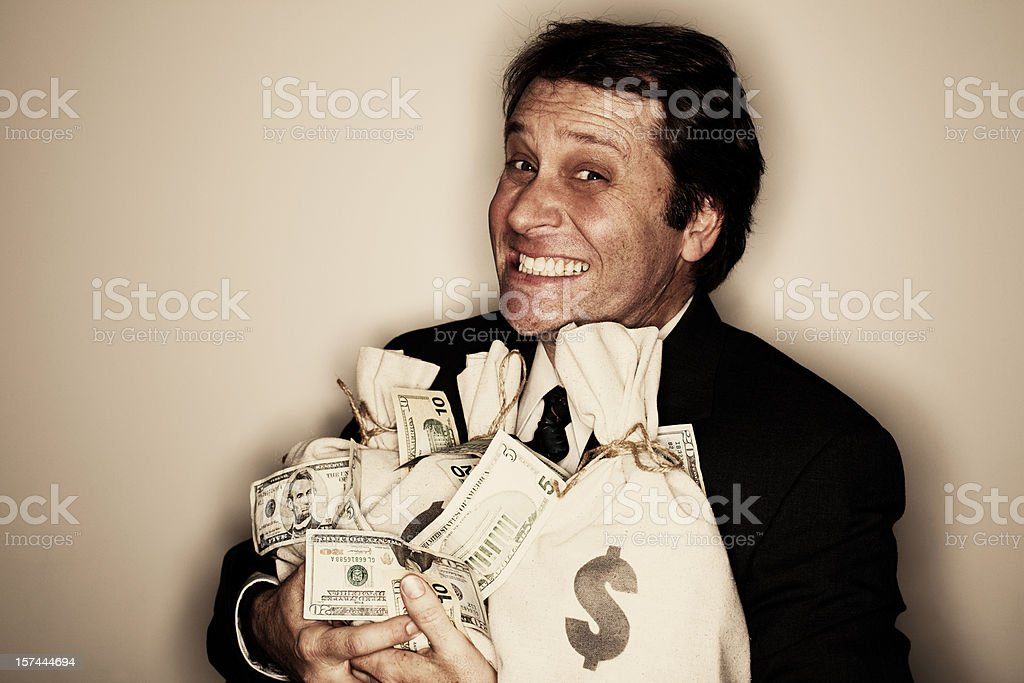 Wealthy Entrepreneur stock photo