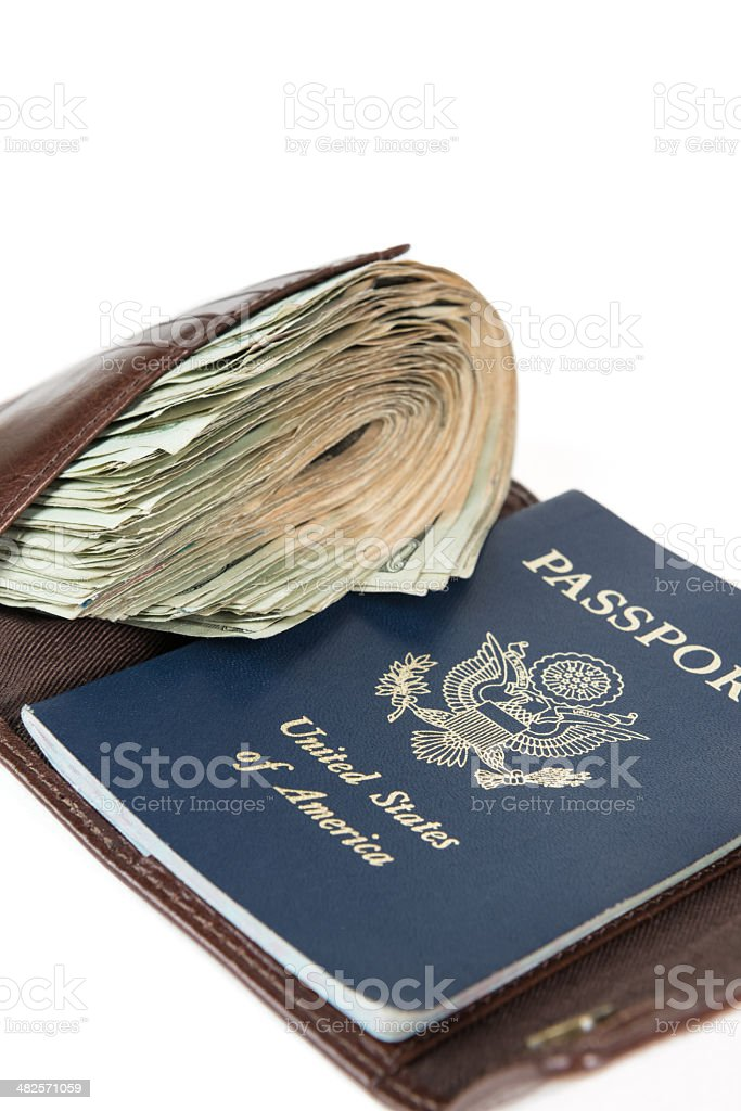 Wealthy Travel Concept royalty-free stock photo