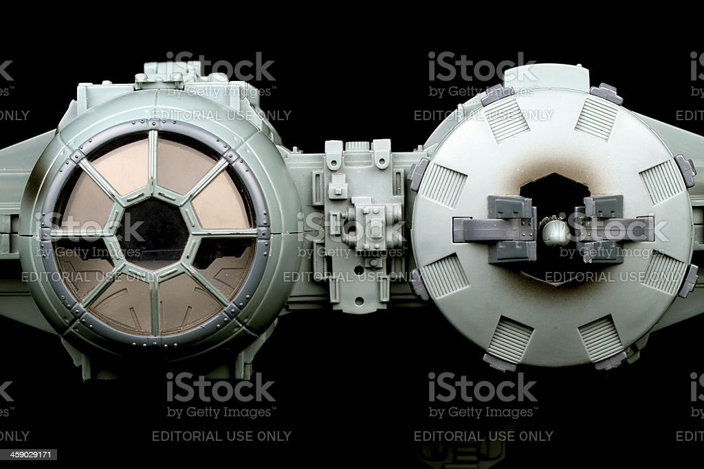 Weaponizing Space royalty-free stock photo