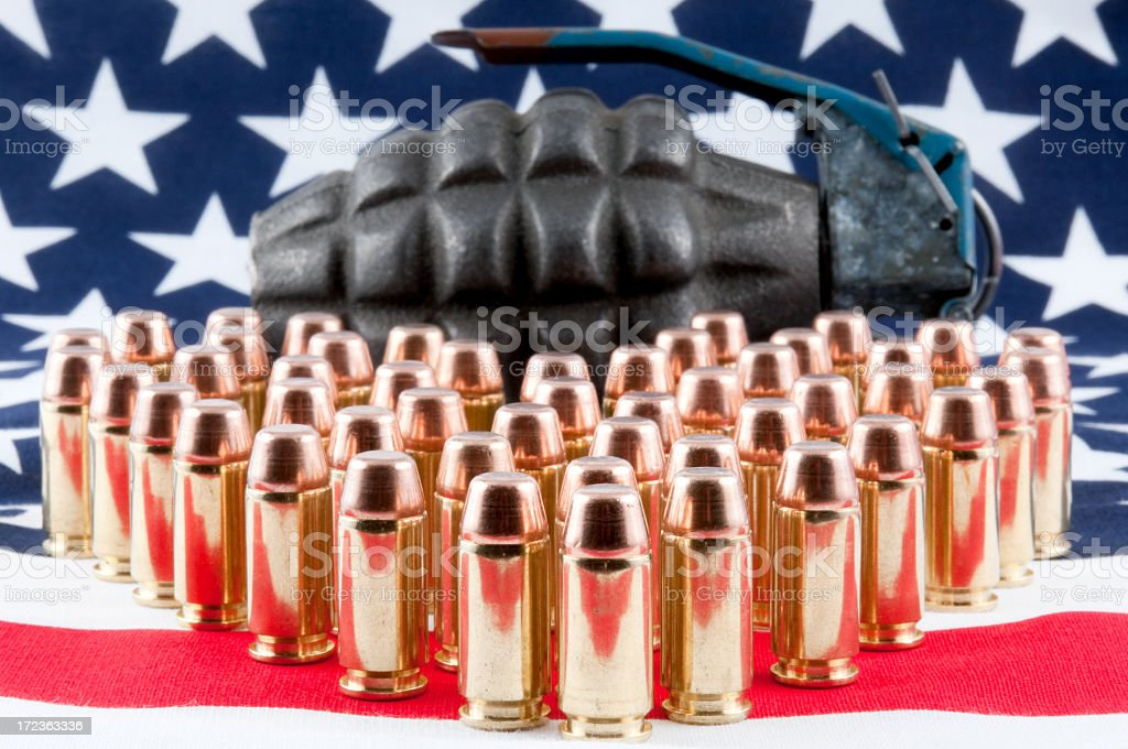 USA Weapons royalty-free stock photo