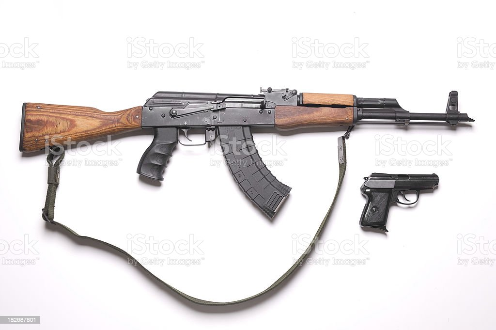 Weapons royalty-free stock photo