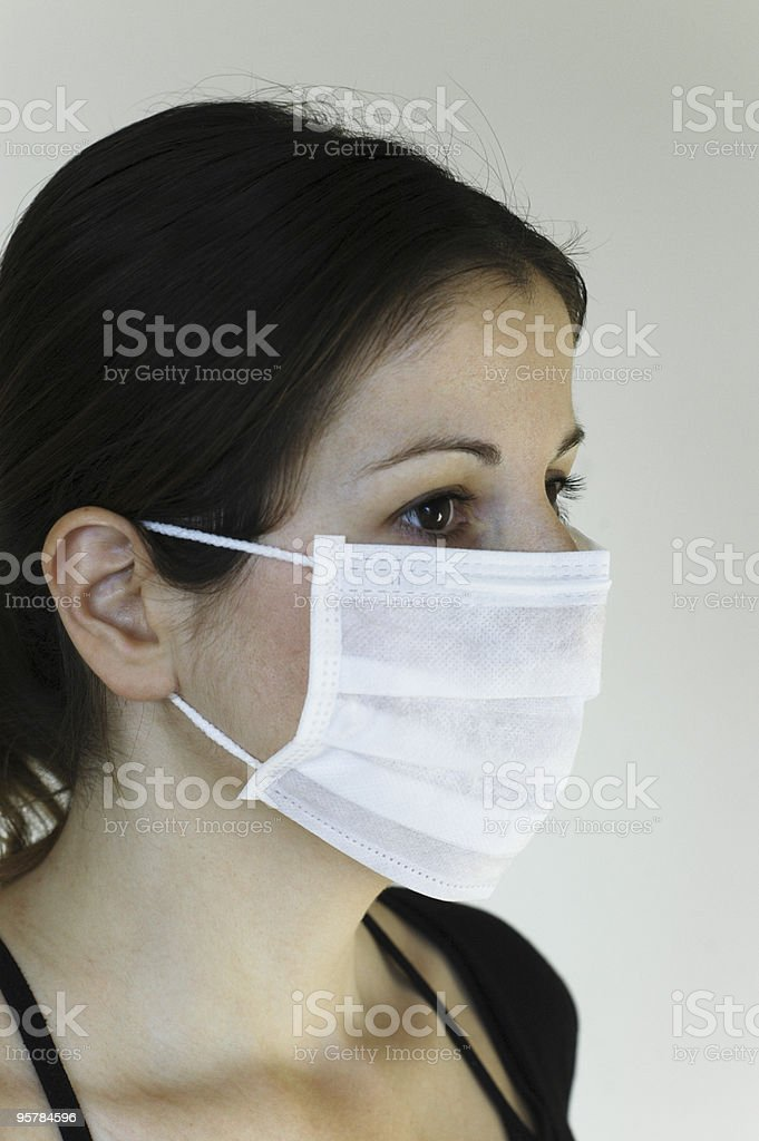 wear a mask royalty-free stock photo