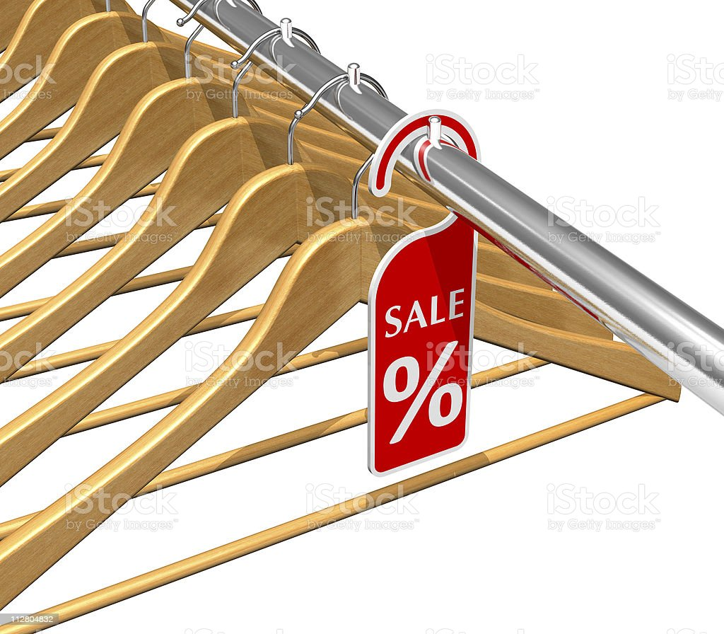Wear sale discount concept royalty-free stock photo
