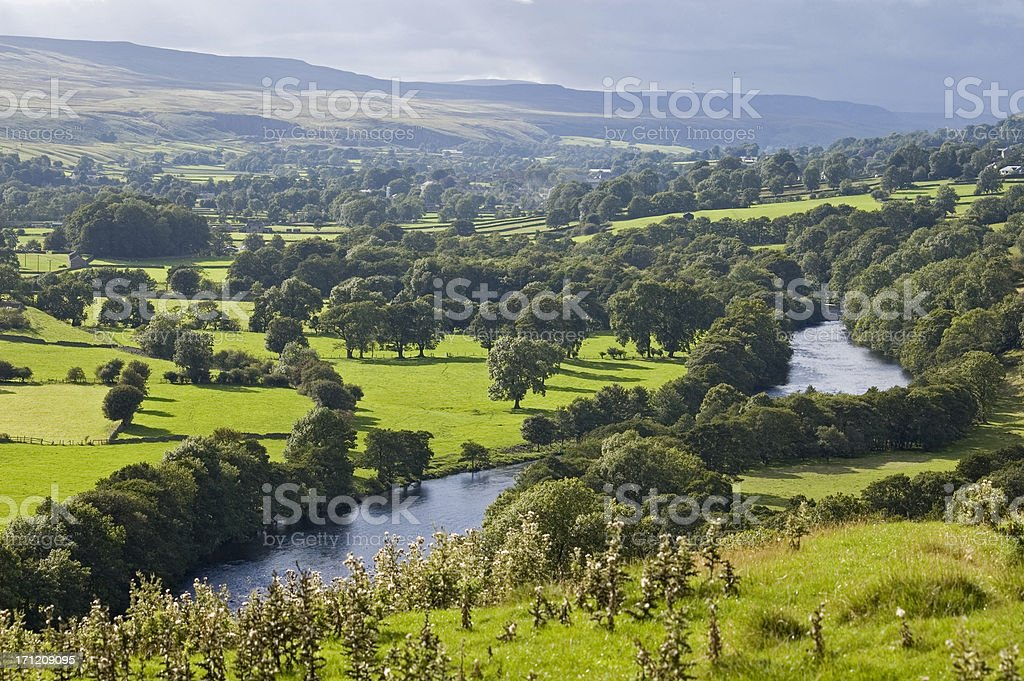 Weardale stock photo