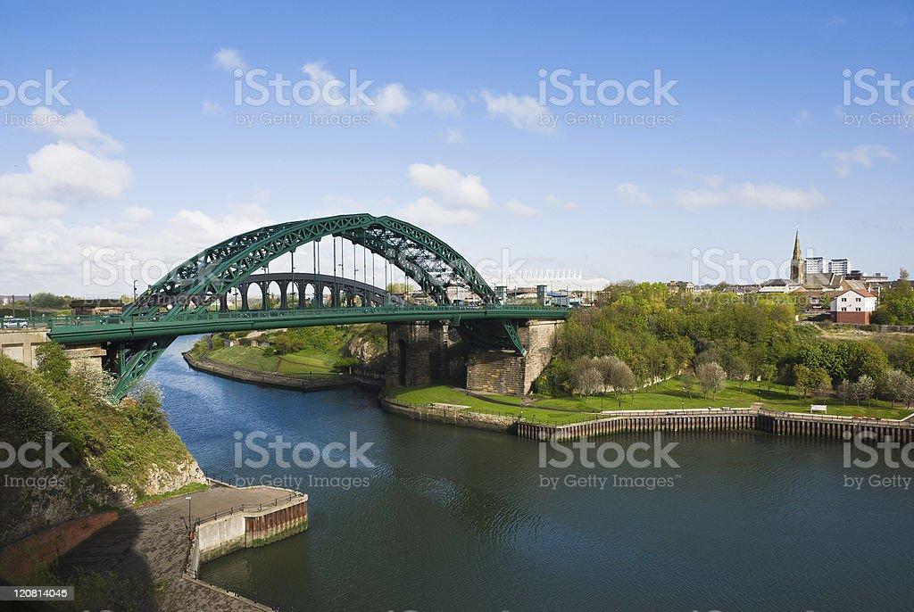 Wearmouth Bridge stock photo