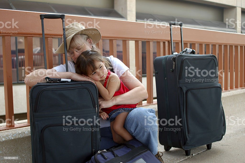 Weary Travelers 1 royalty-free stock photo