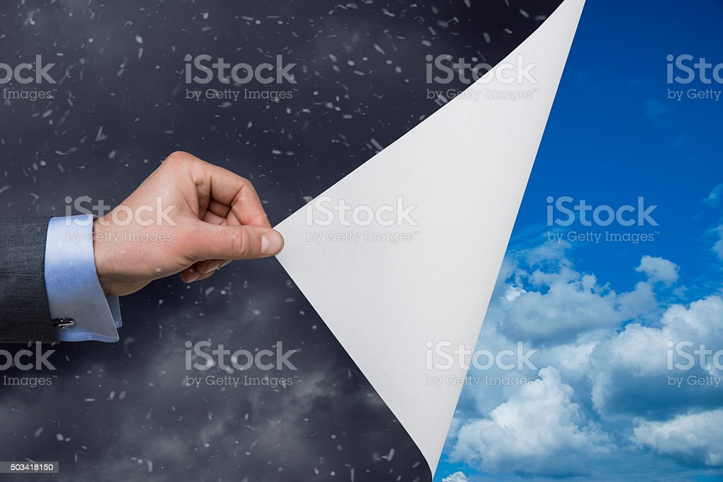 Weater stock photo