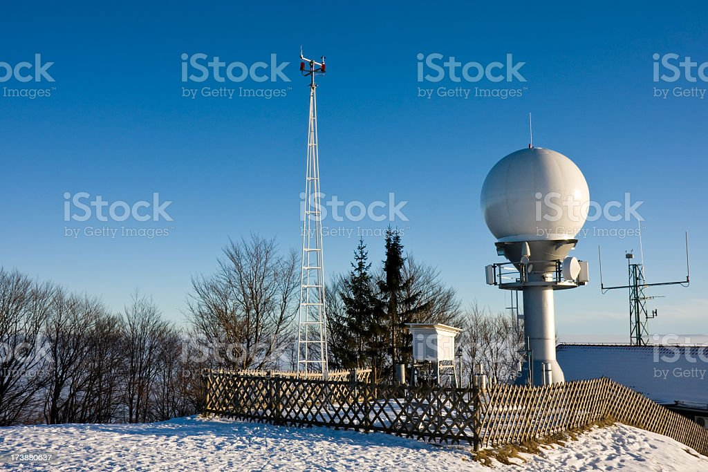 Weather equipment stock photo