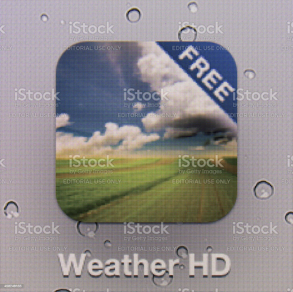 Weather HD royalty-free stock photo