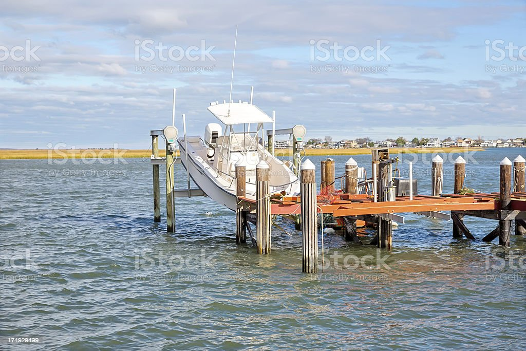 Weather: Hurricane Sandy Damage in New Jersey royalty-free stock photo