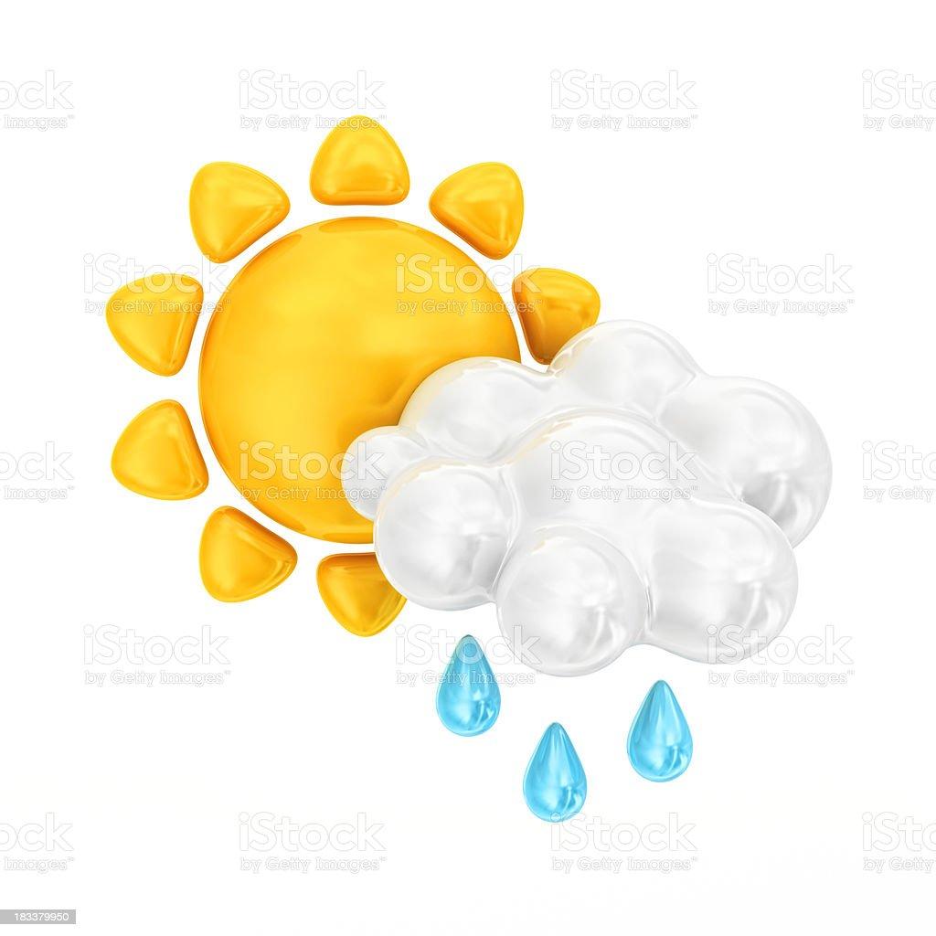 weather icon royalty-free stock photo