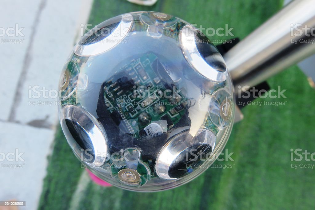 Weather sensor stock photo