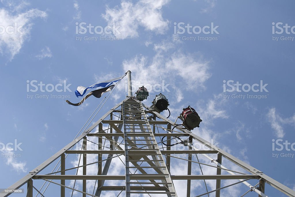 Weather Tower stock photo