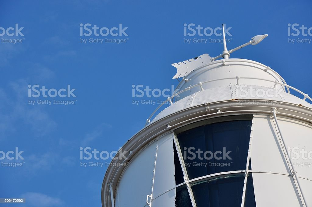 Weather Vane in the Blue stock photo