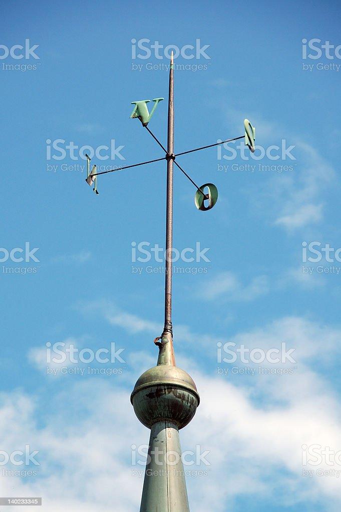 weather vane stock photo