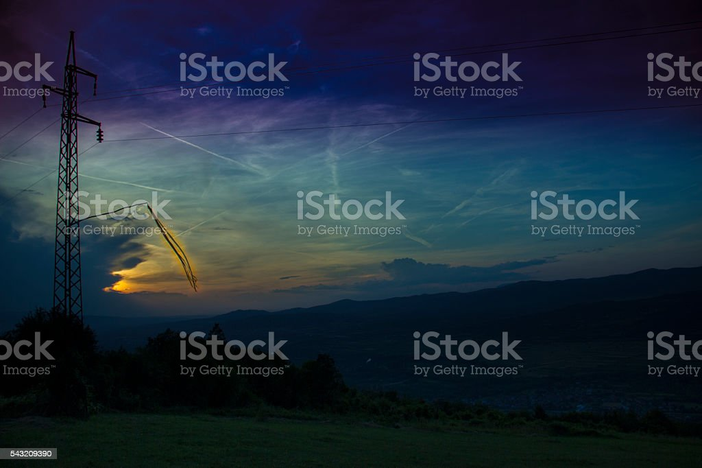 Weather vane royalty-free stock photo