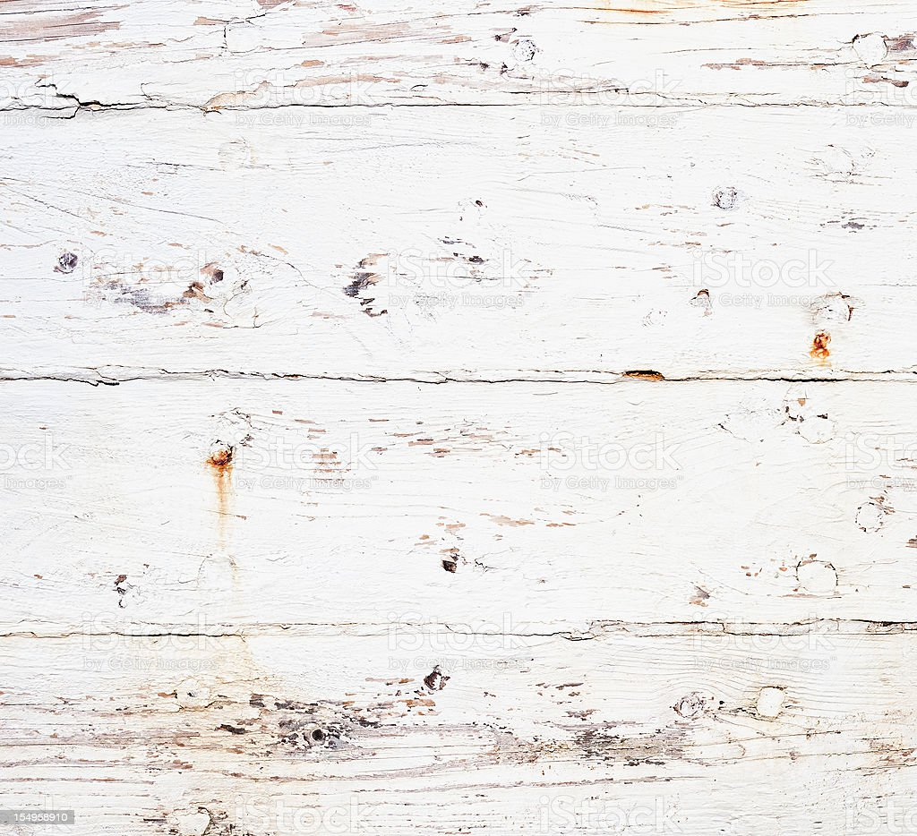 Weathered and Rusty Painted Wooden Texture stock photo