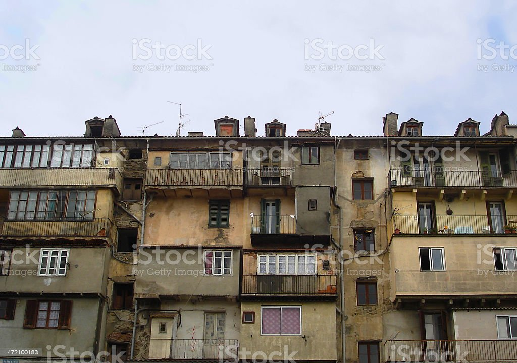 weathered architecture royalty-free stock photo