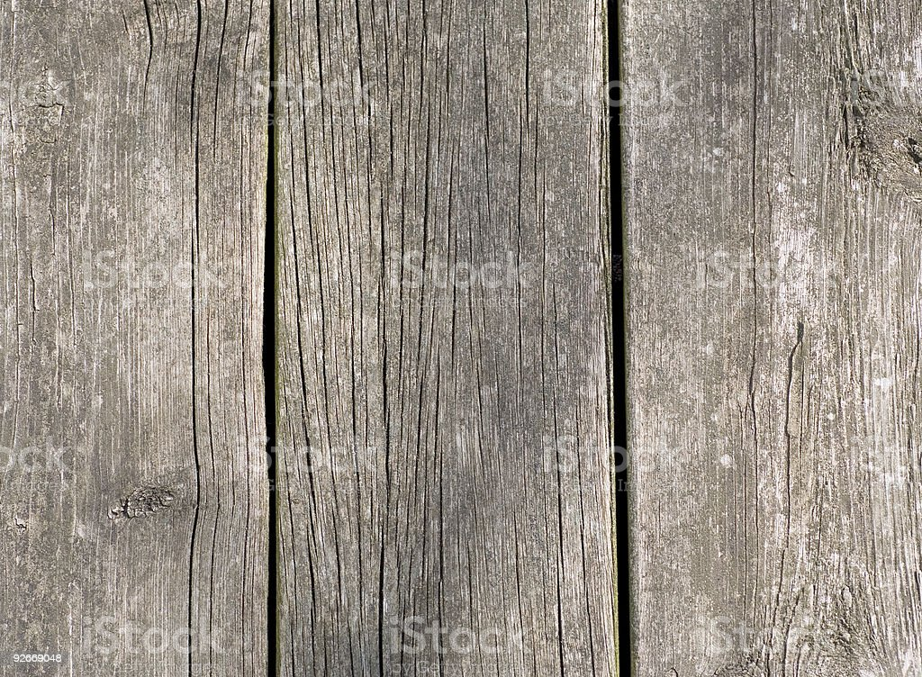 Weathered Boards royalty-free stock photo