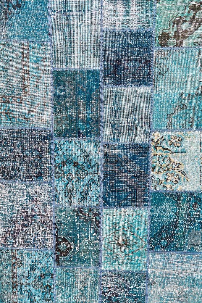 Weathered carpet stock photo