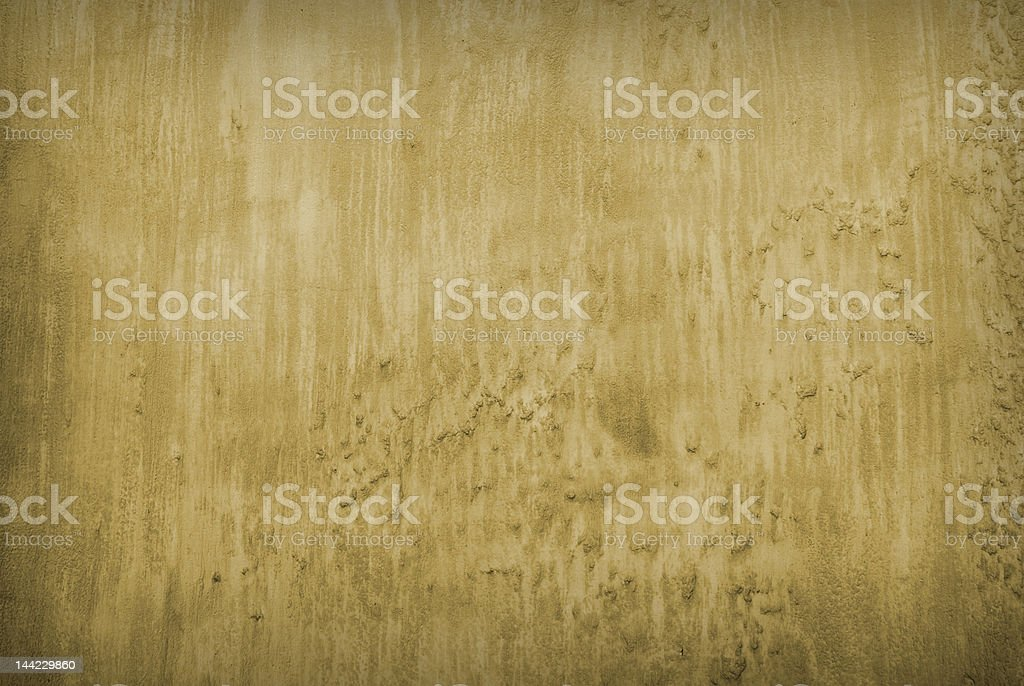 Weathered deep tan sand organic wall texture royalty-free stock photo