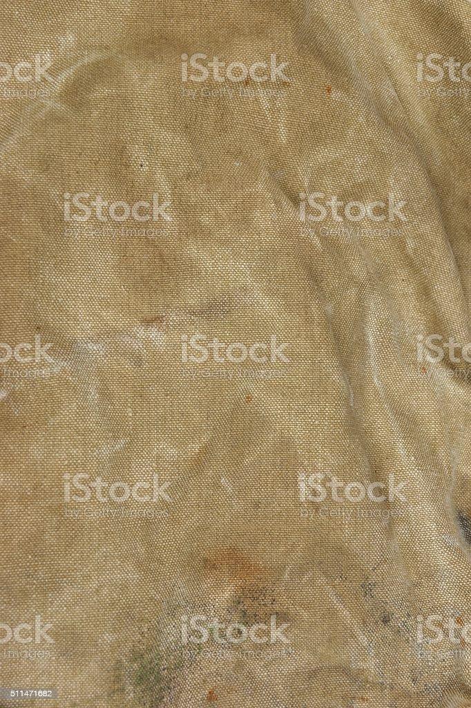 Weathered Faded Military Army  Khaki Camouflage Background Textu stock photo
