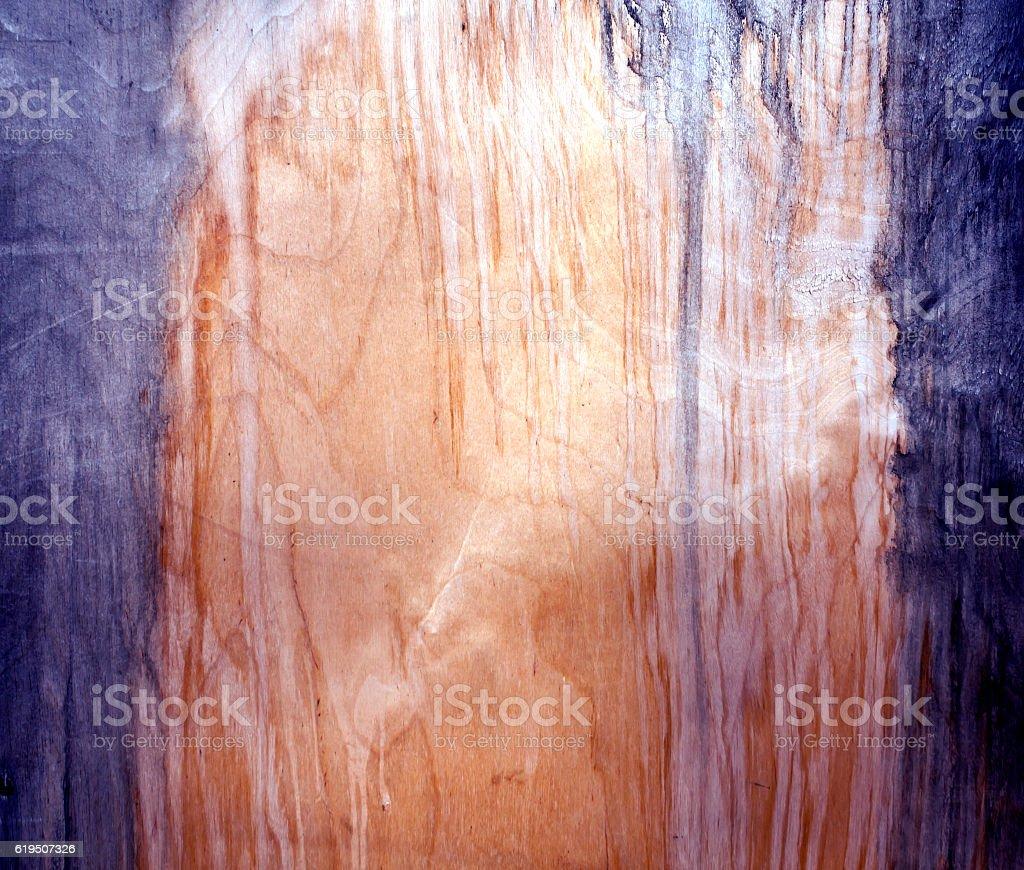 Weathered fiberboard texture. stock photo