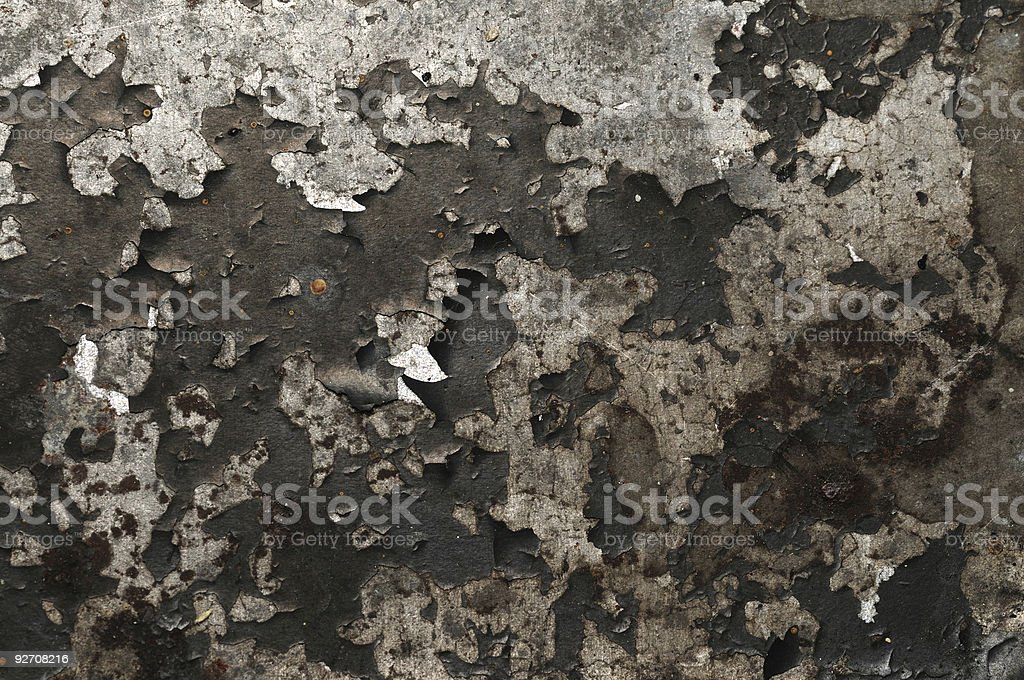 Weathered grunge metal royalty-free stock photo