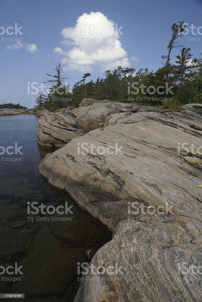 Weathered Landscape royalty-free stock photo