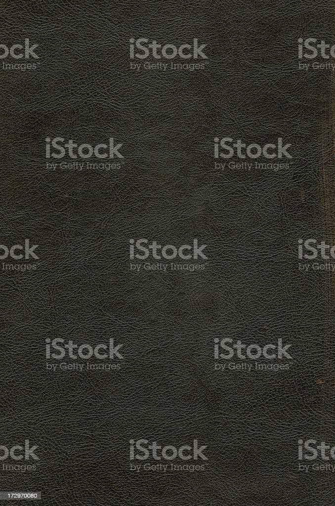 Weathered looking black leather background stock photo