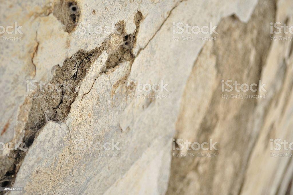 Zniszczony przez warunki atmosferyczne, stare ściany jako tło zbiór zdjęć royalty-free