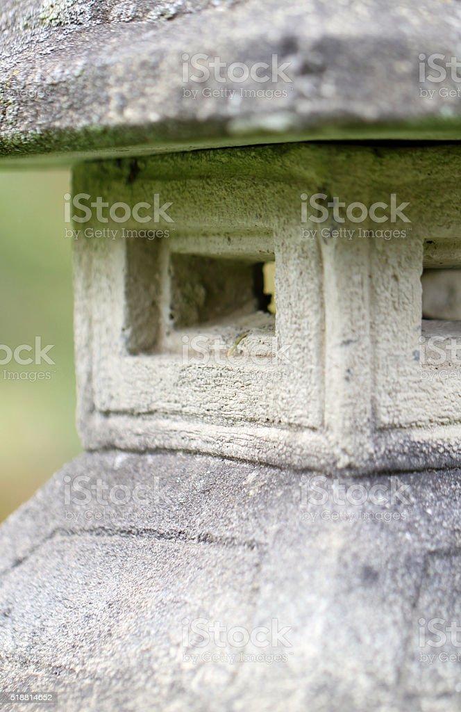 Weathered Pagoda stock photo
