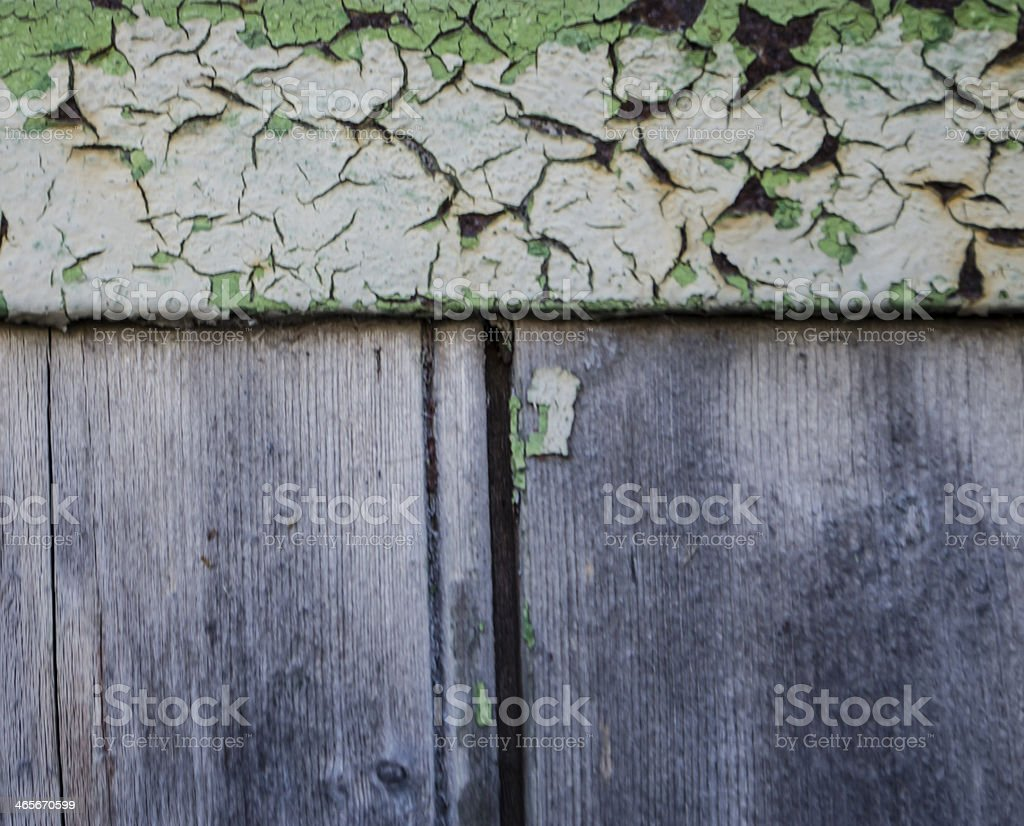 weathered paint on wood royalty-free stock photo