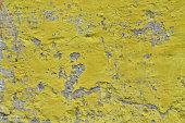 Weathered painted concrete