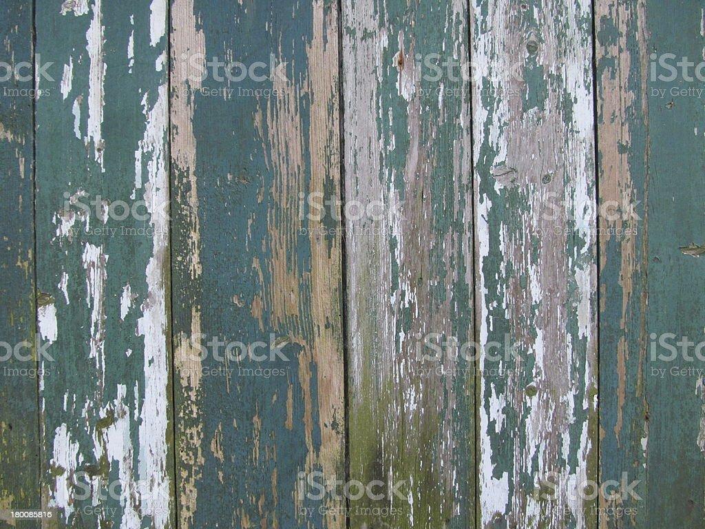 Weathered paintwork stock photo