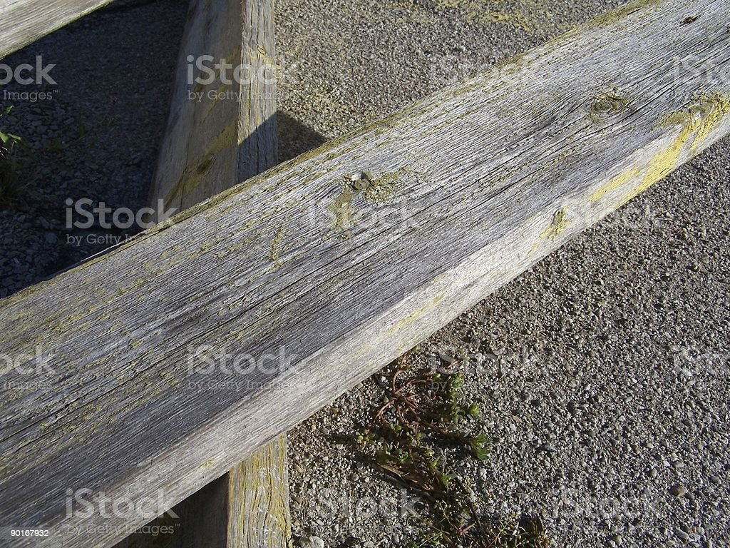 Weathered Planks stock photo