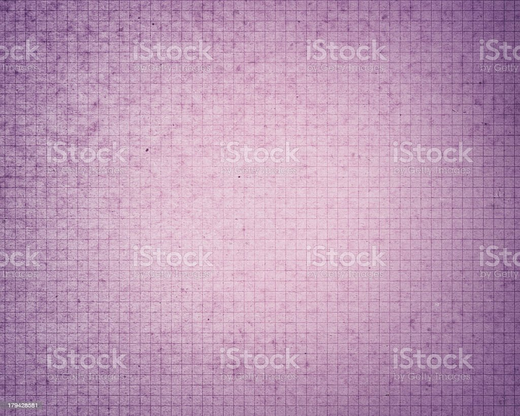 weathered purple graph paper royalty-free stock photo